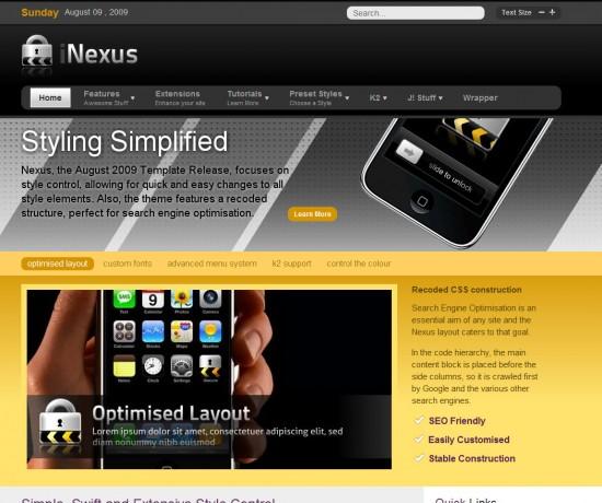 nexus-joomla-template