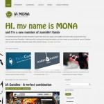 JA Mona Joomla Theme
