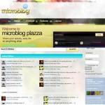 Microblog Plazza Joomla Theme